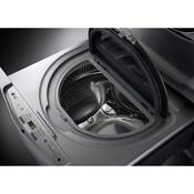 Lg 29 In 1 0 Cu Ft Side Kick Pedestal Washer In Graphite Steel Wd200cv