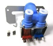Wr57x0111 Refrigerator Dual Water Valve For Ge Kenmore