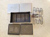 Jenn Air Grill 206013 Pan Element Grates Stainless Covers Used