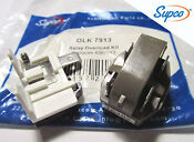 4387913 Olk7913 Refrigerator Relay Overload Oem Supco For Whirlpool Kenmore