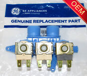 Wh13x22720 Ap5968404 Ps11701139 Ge Washer Triple Water Valve New Oem