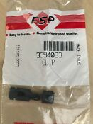 New Oem Genuine 3394083 Whirlpool Washer Front Panel Retainer Clip