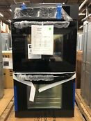 Frigidaire 27 In Double Electric Wall Oven Self Cleaning In Black Ffet2725pb