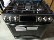 Samsung 5 8 Cu Ft Self Cleaning Slide In Gas Convection Range Free Shipping