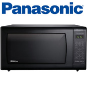 Panasonic Nn Sn736b Black 1 6 Cu Ft Countertop Microwave Oven With Inverter