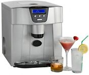 Ice Cube Maker Countertop Machine No Plumbing Required 800g Of Ice