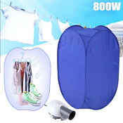 Portable Multifunction 800w Electric Air Clothes Dryer Fast Drying Machine Bag