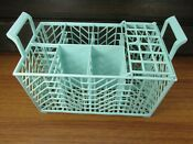 Maytag Dishwasher Turquoise Silverware Utensil Cutlery Basket Caddy 7 Sections
