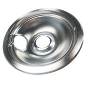 Stove Drip Pans Replacement For Whirlpool Frigidaire 6 Inch