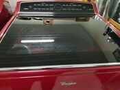 Whirlpool Washer And Dryer Set Red Euc