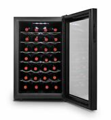 Mini Wine Fridge Best Cooler Refrigerator 28 Bottles Thermoelectric Auto Defrost