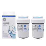 2 Pack Ge Oem General Electric Mwf Replacement Refrigerator Water Filter
