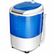 Portable Mini Compact Washing Machine 5 5lbs Electric Laundry Spin Washer Dryer