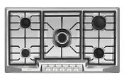 Empava 36 In Stainless Steel Gas Cooktop 5 Burners Cooker Built In Stove 881