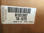 New Genuine Oem In Original Packaging Whirlpool Washer Outer Tub W10313497