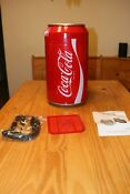 Coca Cola Mini Can Fridge New In Box Electric Coke Cooler 12vdc Or 110ac