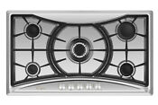 Empava 36 In Stainless Steel Gas Cooktop 5 Burners Cooker Built In Stove 202