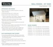 Viking Professional Series Vwh3610ss 36 Inch Pro Style Wall Mount Range Hood