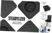 Anti Vibration Pads For Washing Machine 4pc Prevent Your Washer And Dryer