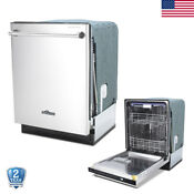 24 Fully Integrated Stainless Steel Dishwasher Portable Compact Top Control Csa