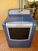 Kenmore Elite Dryer Metallic Silver Blue Used Local Pickup Only S Florida