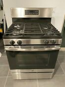 5 0 Cu Ft Gas Range With Self Cleaning Oven In Stainless Steel