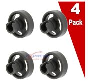 4 Pack Wd12x10231 Dishwasher Lower Rack Roller For Ge Ap3994981 Ps1481883