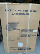 Arctic King 5 Cu Ft Chest Freezer Fast Shipping Brand New