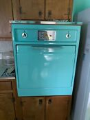 Vintage Ge Wall Oven 1950s Tiffany Blue