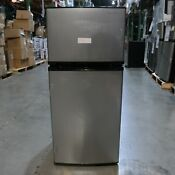 Pickup Only Insignia 4 3cf Top Freezer Refrigerator Ns Cf43ss9
