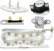 3387747 Dryer Heating Element Kit Thermal Fuse For Kenmore Samsung Whirlpool