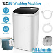 Portable Washing Machine Full Automatic Washer And Spin Dryer 13 2lbs Capacity