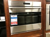 So30testh Wolf 30 Single Electric Wall Oven E Series Tub Handle Display Model