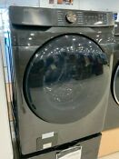 Samsung 5 0 Cu Ft Black Stainless Smart Front Load Washer