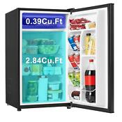 Mini Fridge Freezer Small Refrigerator 3 3 Cu Ft Compact Frozen Food Storage New