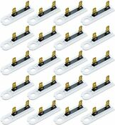 20pcs 3392519 Dryer Thermal Fuse Replacement Part For Whirlpool Replaces 3388651