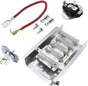 279838 Dryer Heating Element With 279816 For Whirlpool Replaces 8565582 3398063