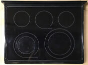 318394212 Frigidaire Glass Smooth Top Range Stove Main Ceramic Cooktop Assembly