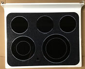 Wb62t10642 Ge Glass Top Range Stove Main Ceramic Cooktop Assembly White