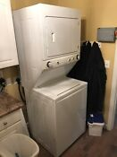 Frigidaire Electrolux Hair Salon Stacked Washer Dryer Ffle3911qw0 Local Pickup