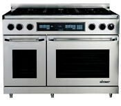 Dacor Er48dschngh 48 Freestanding Dual Fuel Range Natural Gas High Altitude
