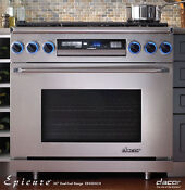 Dacor Er36dschng 36 Freestanding Dual Fuel Range Natural Gas