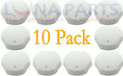 10 Pack 74009593 Burner Knob Gray For Jenn Air Range Cooktop Ap4097797 Ps2087007