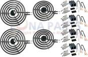 Mp21ya 8 Mp15ya 6 Range Stove Cooktop Burner Element With Receptacle 4 Pack