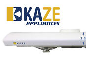 Kaze K202 30 Inch White Slim Under Cabinet Kitchen Range Hood Fan Exhaust Vent