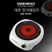 Deawoo Electric Range Temperature Kichen Portable Single Hotplate Cooktops Cook
