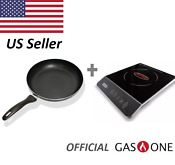 Gas One 1800w Induction Cooktop Multifunction And Induction Frying Pan