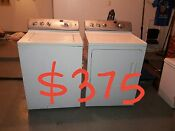 Ge Washer Electric Dryer