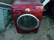 Samsung Maroon Red Vrt Steam Household Washing Machine Local Pickup