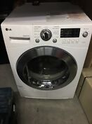 Lg Dlec855w 4 2 Cu Ft Ventless 24 Electric Front Load Dryer
